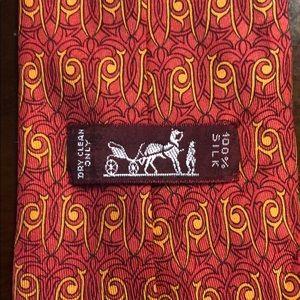 HERMÈS PARIS 100%silk